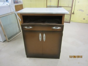 metal cabinet, in very good condition