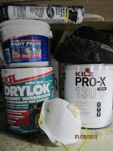 wall repair materials