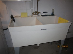 My favorite double utility sink!
