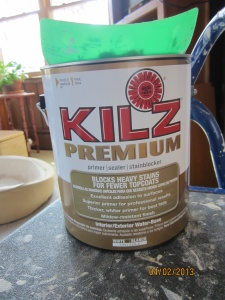 Kilz, the best primer.