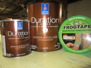 Sherwin-Williams and FrogTape, worth every penny!