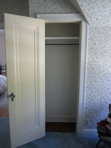 I want to be a linen closet.
