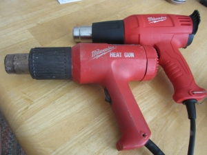 Milwaukee heat guns!